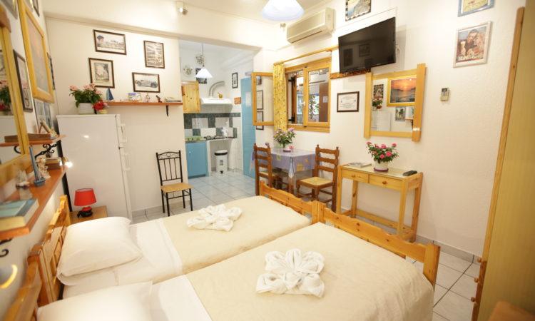 Comfort Double or Twin Studio – Ground Floor