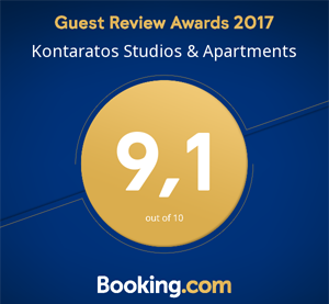 well rated in booking.com